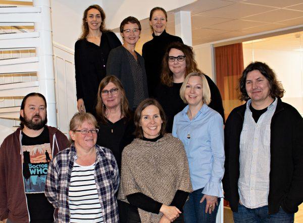 Tio personer ur BTJ:s utvecklingsråd för Bibliografisk service